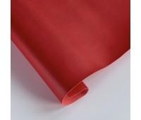 Переплетный матовый кожзам, цвет красный 19, 35*25 см