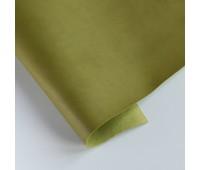 Переплетный матовый кожзам, цвет оливковый 25, 27х35 см