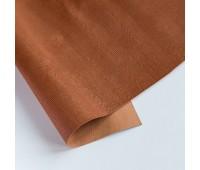 Переплетный матовый кожзам с текстурой дерево, цвет светло-коричневый