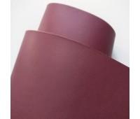 Переплетный матовый кожзам, цвет красного вина, 25-35 см