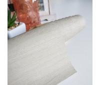 Переплетный матовый кожзам с текстурой дерево, цвет светлый беж, 25-35 см