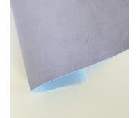 Переплетный матовый кожзам c фактурой мятой кожи Мантуя, цвет лиловый, 50х140 см