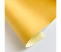 Переплетный матовый кожзам, цвет кукурузный