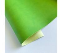 Переплетный матовый кожзам, цвет мохито