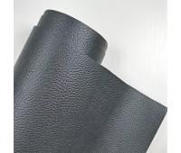 Переплетный матовый кожзам с фактурой буйвола, цвет черный