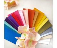 Набор образцов переплетного текстурного кожзама 68 шт, 5*7 см
