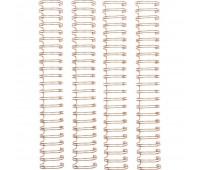 Металлическая пружина Cinch, цвет розовое золото, 2,5 см