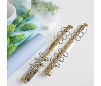 Кольцевой механизм А5 - 22 см,  3 см диаметр кольца, цвет серебро