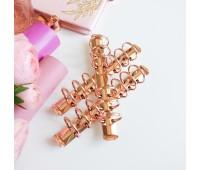 Кольцевой механизм А6 - 17,5 см, 3 см диаметр кольца , цвет розовое золото