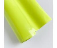 Самоклеющаяся пленка, цвет кислотный глянец, 10-22,5 см