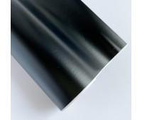 Самоклеющаяся пленка, цвет черный матовый, 10-22,5 см