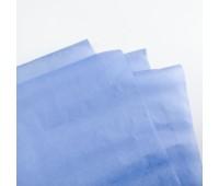 Бумага тишью, цвет темно-голубой, 50-70 см