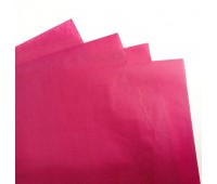 Бумага тишью, цвет марсала, 50-70 см