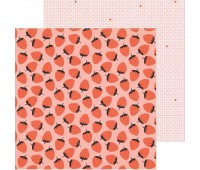 Лист двухсторонней бумаги Berry Sweet, La La love
