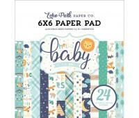 Набор бумаги двухсторонней Hello Baby Boy, 15х15 см