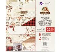 Набор двухсторонней бумаги Christmas In The Country, 30-30 см