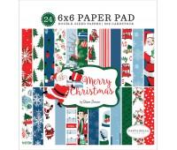Набор бумаги двухсторонней Merry Christmas, 15-15 см