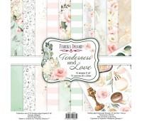 Набор скрапбумаги Tenderness and love 20x20 см 10 листов