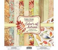 Набор скрапбумаги Colors of Autumn 30,5x30,5 см 10 листов