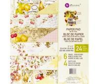 Набор скрапбумаги  Fruit Paradise с фольгированием, 30х30 см