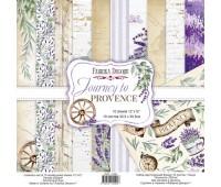 Набор скрапбумаги Journey to Provence 30,5x30,5 см 10 листов