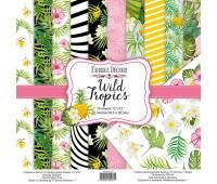 Набор скрапбумаги Wild Tropics 30,5x30,5 см 10 листов