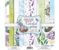 Набор скрапбумаги Colorful spring 30,5x30,5 см 10 листов