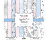 Набор скрапбумаги Winter melody 30,5x30,5 см 10 листов