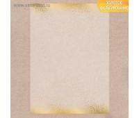 Калька декоративная с фольгированием «Золотой ветер», 29.7 × 21 см