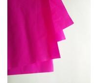 Бумага тишью, цвет фуксия, 50-70 см