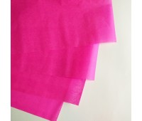 Бумага тишью, цвет яркорозовый, 50-70 см