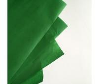 Бумага тишью, цвет зеленый, 50-70 см