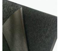 Калька для упаковки, цвет черный фактурный с блеском, 50-70 см