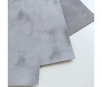Лист бумаги флок, цвет серый 23-25 см