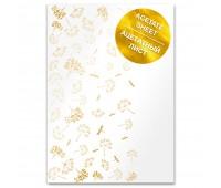 Ацетатный лист с фольгированием Golden Dill A4 21х30 см