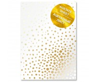 """Ацетатный лист с фольгированием """"Golden Maxi Drops A4"""""""