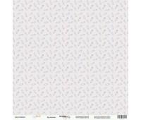 Лист односторонней бумаги Булавочка из коллекции Baby Boy, 30-30 см