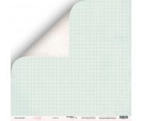 Лист двусторонней бумаги Счастье из коллекции Little Bunny, 30-30 см