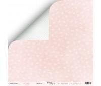 Лист двусторонней бумаги Фантазия из коллекции Little Bunny, 30-30 см