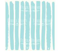 """Деко веллум (лист кальки с рисунком) """"Бело-голубые полосы"""""""