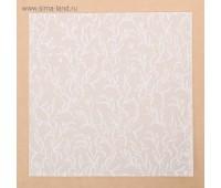 Калька декоративная «Цветочные мотивы» , 30.5 х 30.5 см
