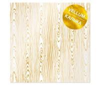 Лист кальки (веллум) с фольгированием Golden Wood Texture 30,5х30,5 см