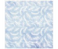 Деко веллум (лист кальки с рисунком) Перышки 29х29 см 90г/м²