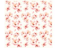 Деко веллум (лист кальки с рисунком) Магнолия на белом 29х29 см 90г/м²