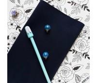 №56 Искусственная замша на дайвинге, цвет глубокий-синий