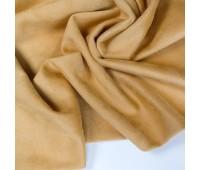 №84 Искусственная замша на трикотаже, цвет горчичный, 25-49 см