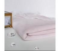 №66 Искусственная замша на трикотаже, цвет нежно-розовый, 25-49 см
