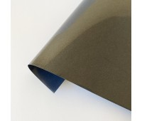 Термотрансферная пленка матовая, цвет черный, 10х25 см