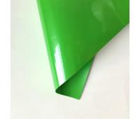 Термотрансферная пленка матовая, цвет зеленое яблоко, 10х25 см
