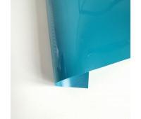Термотрансферная пленка матовая, цвет морская волна, 10х25 см